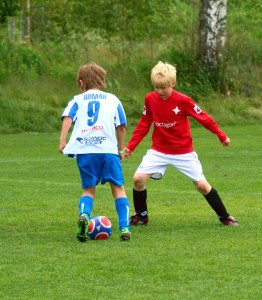 Harald som mittback