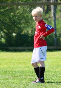 Harald som kapten